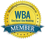 A badge for the wedding band association in ireland
